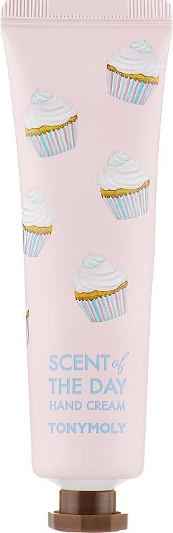 Крем для рук с экстрактом персика, клубники и папайи - Tony Moly Scent Of The Day Hand Cream So Sweet