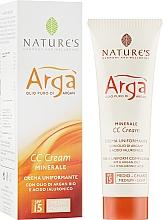 Духи, Парфюмерия, косметика Крем для коррекции тона - Nature's Argà Minerale Tone Correcting CC Cream