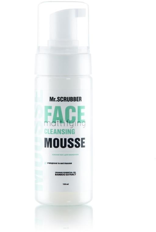 """Нежный мусс для умывания """"Очищение и матирование"""" - Mr.Scrubber Mattifying Cleansing Mousse"""