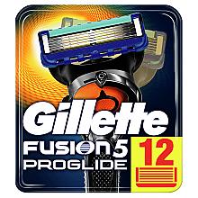 Духи, Парфюмерия, косметика Сменные кассеты для бритья, 12 шт. - Gillette Fusion ProGlide