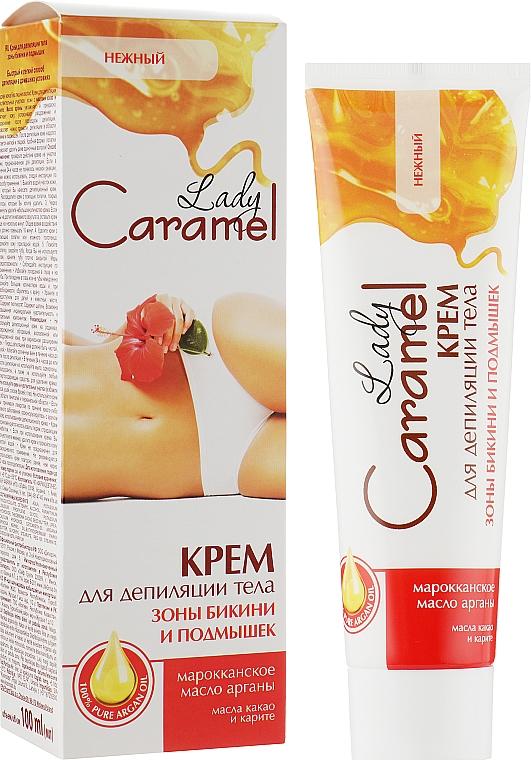 Крем для депиляции тела зоны бикини и подмышек - Caramel