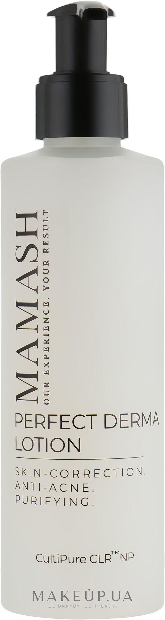 Лосьон для усовершенствования проблемной кожи - Mamash Organic Perfect Derma — фото 200ml