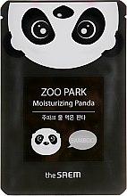 Духи, Парфюмерия, косметика Маска для лица увлажняющая - The Saem Zoo Park Water Moisturizing Panda