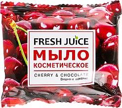 "Духи, Парфюмерия, косметика Мыло косметическое ""Вишня и шоколад"" - Fresh Juice Cherry & Chocolate"