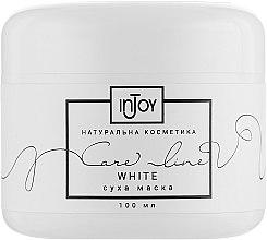 """Сухая маска для лица """"White"""" - InJoy Care Line  — фото N3"""