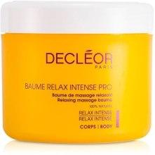 Духи, Парфюмерия, косметика Массажный бальзам для тела - Decleor Relax Intense Pro Relaxing Massage Baume