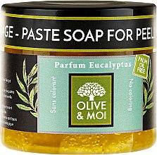 Духи, Парфюмерия, косметика Черное мыло с ароматом эвкалипта - Saryane Olive & Moi Savon Noir