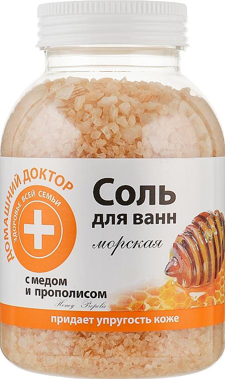 Соль для ванн с медом и прополисом - Домашний Доктор