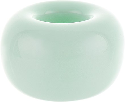 Керамическая подставка для зубных щеток, ментоловая - BaiduBj — фото N1