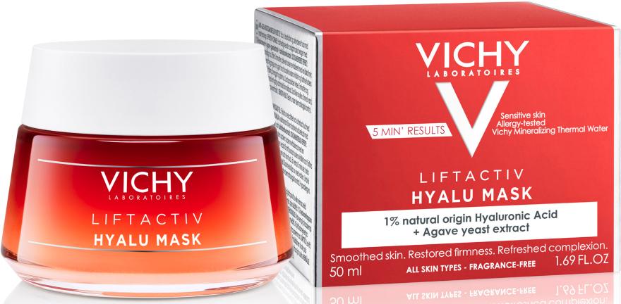Антивозрастная экспресс-маска с гиалуроновой кислотой - Vichy Liftactiv Hyalu Mask