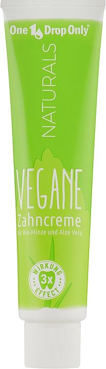 Натуральная зубная паста с органической мятой и алоэ вера - One Drop Only Naturals