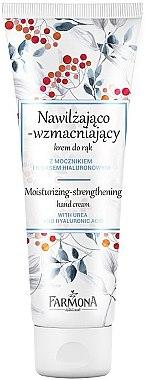 Увлажняющий укрепляющий крем для рук и ногтей - Farmona Moisturizing-strengthening Hand Cream — фото N1