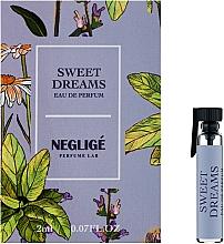 Духи, Парфюмерия, косметика Neglige Sweet Dreams - Парфюмированная вода (пробник)