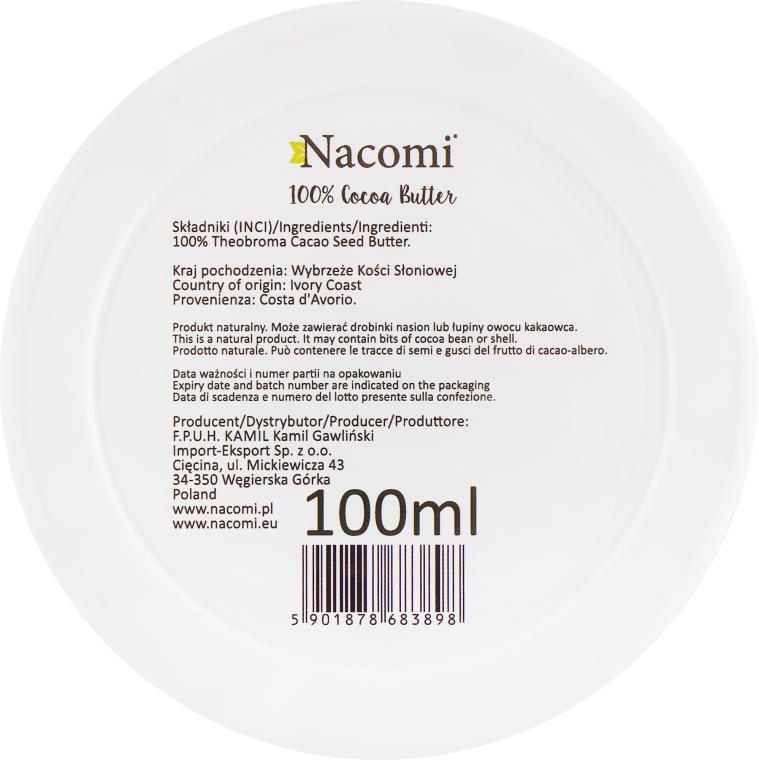 Масло какао - Nacomi Natural Kakao Butter — фото N3