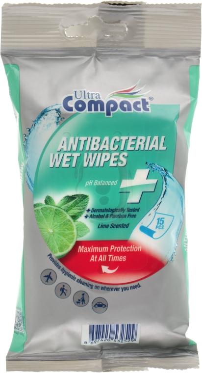 Антибактериальные влажные салфетки - Ultra Compact Antibacterial Wet Wipes