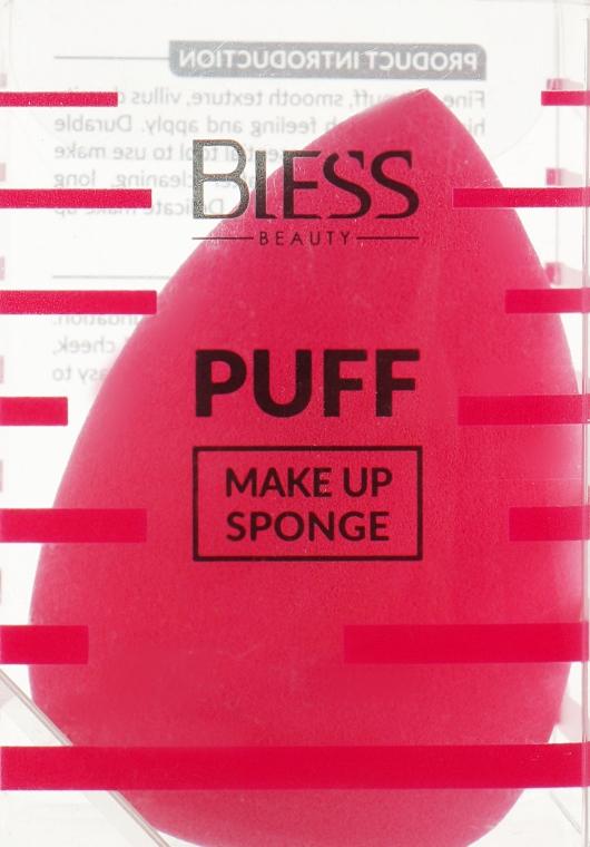 Спонж-капля, розовый - Bless Beauty PUFF Make Up Sponge
