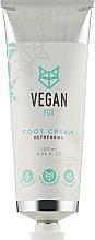 Духи, Парфюмерия, косметика Крем для ног освежающий - Vegan Fox Refreshing Foot Cream