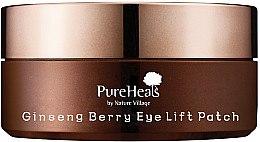 Духи, Парфюмерия, косметика Патчи для лифтинга кожи вокруг глаз с экстрактом ягод женьшеня - PureHeal's Ginseng Berry Eye Lift Patch Jar