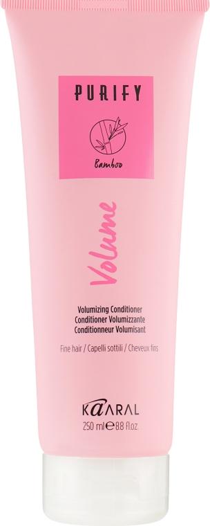 Крем-кондиционер для тонких волос с маслом лимнантеса - Kaaral Purify Volume Conditioner