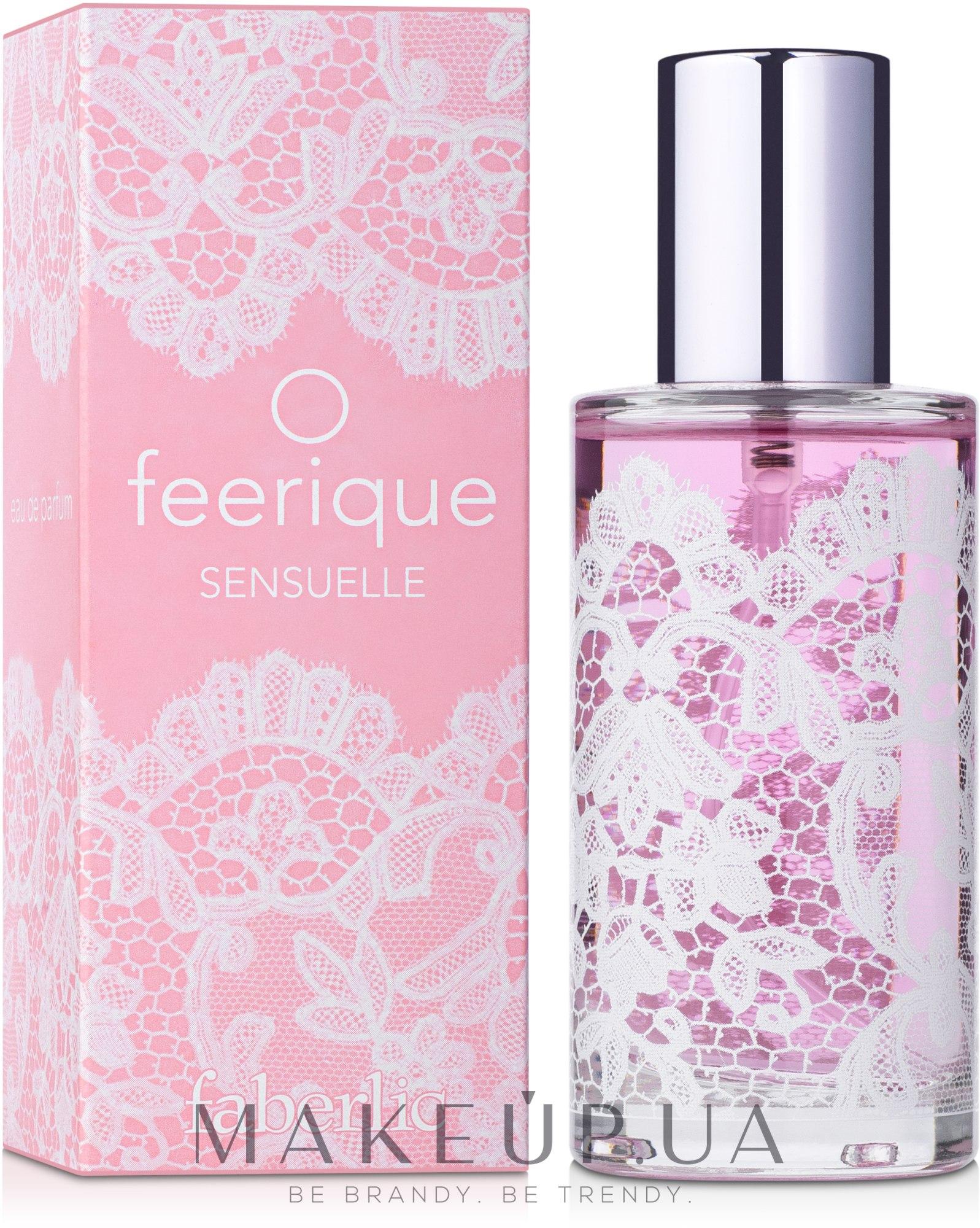 Faberlic O Feerique Sensuelle - Парфюмированная вода — фото 50ml