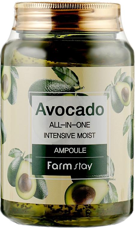 Многофункциональная сыворотка с экстрактом авокадо - FarmStay Avocado All-In-One Intensive Moist Ampoule