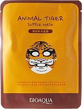 "Духи, Парфюмерия, косметика Тканевая маска для лица в зверином стиле ""Тигр"" - Bioaqua Animal Tiger Supple Mask"