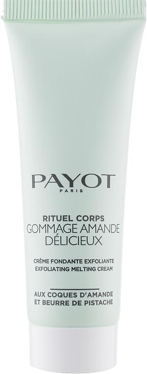 Скраб-крем для тела - Payot Rituel Corps Gommage Amande Exfoliating Melt-In Cream (тестер)