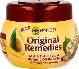 Духи, Парфюмерия, косметика Интенсивная маска для вьющихся волос с авокадо - Garnier Original Remedies Intense Nutrition Anti-frizz Mask