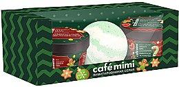 Духи, Парфюмерия, косметика Набор - Cafe Mimi Ginger Man (ball/bath/120g + soap/scr/110ml + b/cr/110ml)