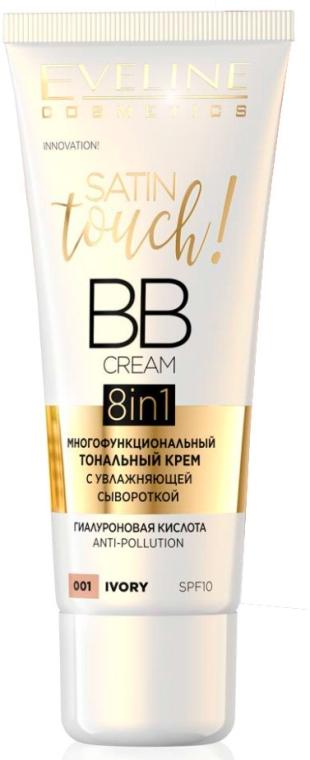 Многофункциональный тональный крем - Eveline Cosmetics 8in1 Satin Touch BB Cream SPF10