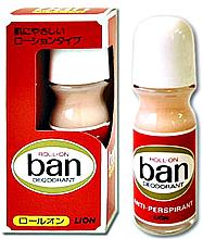 Духи, Парфюмерия, косметика Дезодорант-антиперспирант роликовый без запаха - Lion Ban Roll-On Deodorant