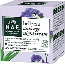Духи, Парфюмерия, косметика Ночной крем для лица - N.A.E. Bellezza Anti-Age Night Cream