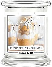 Духи, Парфюмерия, косметика Ароматическая свеча в банке - Kringle Candle Pumpkin Cheesecake