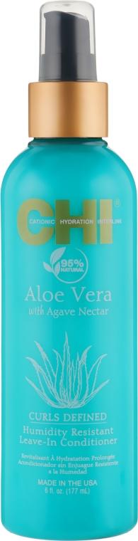 Несмываемый кондиционер для защиты волос от влажности - CHI Aloe Vera Humidity Resistant Leave-In Conditioner