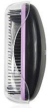 Духи, Парфюмерия, косметика Щетка для волос 1245, черная с фиолетовым - Donegal Hair Brush