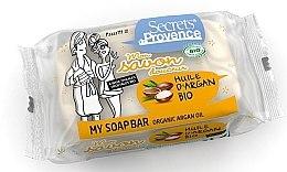 Духи, Парфюмерия, косметика Мыло - Secrets De Provence My Soap Bar Organic Argan Oil