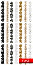 Парфумерія, косметика Наклейки для дизайну нігтів - Kodi Professional Nail Art Stickers FL026