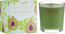 Духи, Парфюмерия, косметика Соевая свеча - Pacifica Mediterranean Fig Soy Candle