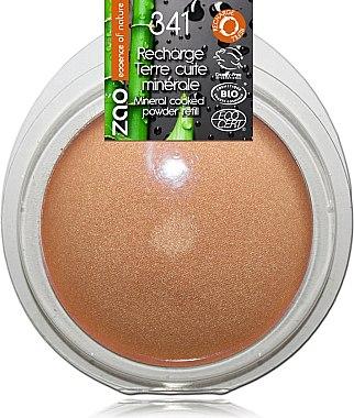 Пудра минеральная запеченая - Zao Baked Face Powder Refill (сменный блок)