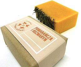 "Духи, Парфюмерия, косметика Натуральное мыло ""Апельсин и розмарин"" - Cztery Szpaki Orange & Rosemary Soap"
