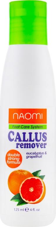 Кислотный пилинг для педикюра - Naomi Callus Remover Double Strong Formula
