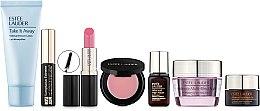Набор - Estee Lauder (lot/30ml+cr/15ml+ser/7ml+eye/ser/5ml+lipstick/3.5g+mascara/2.8ml+lipbalm/1.6g) — фото N1