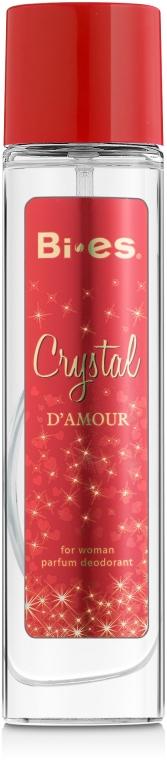 Bi-Es Crystal D'Amour - Парфюмированный дезодорант-спрей