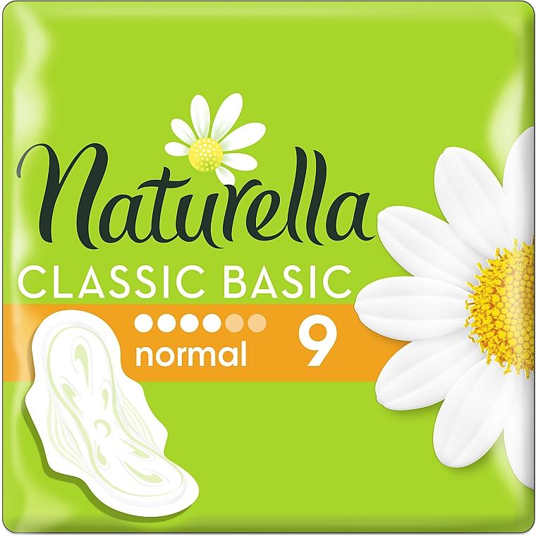 Гигиенические прокладки c крылышками, 9шт - Naturella Classic Basic Normal