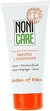Духи, Парфюмерия, косметика Увлажняющий шампунь-кондиционер - Nonicare Garden Of Eden Shampoo & Conditioner