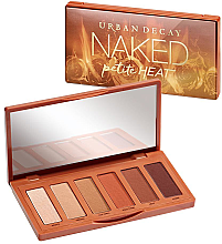 Духи, Парфюмерия, косметика Палетка тіней для повік - Urban Decay Naked Petite Heat Eyeshadow Palette