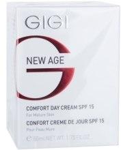 Духи, Парфюмерия, косметика Дневной крем SPF-15 - Gigi New Age Comfort Day Cream SPF15