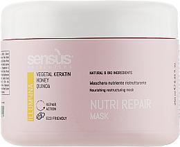 Духи, Парфюмерия, косметика Маска для питания сухих волос - Sensus Nutri Repair Mask