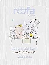 Духи, Парфюмерия, косметика Успокаивающий гель-пенка для ванны с лавандой - Roofa Good Night Bath Gel (пробник)