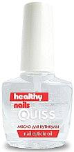 Духи, Парфюмерия, косметика Масло для кутикулы - Quiss Healthy Nails №13 Nail Cuticle Oil